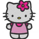 hello kitty embroidery machine pattern