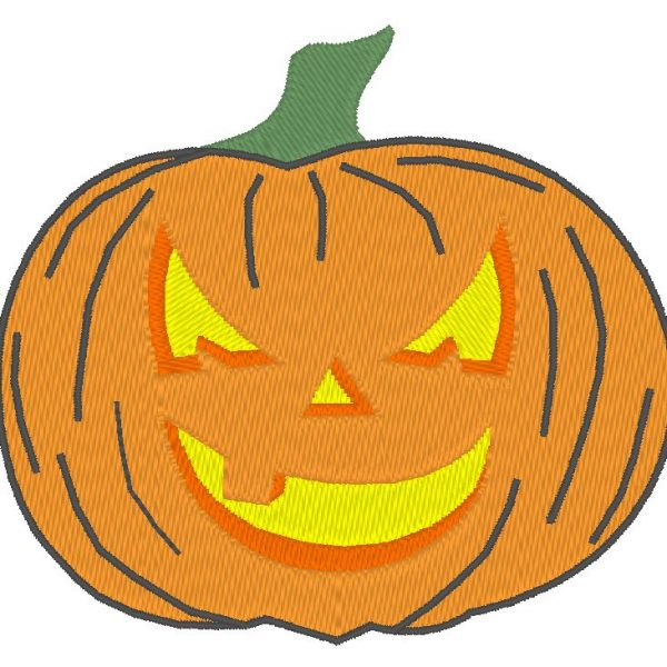 pumpkin halloween machine embroidery designs