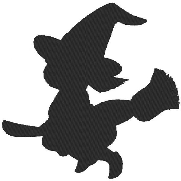 shadow little witch machine embroidery design free