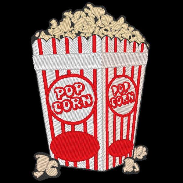 ricamo a macchina per popcorn