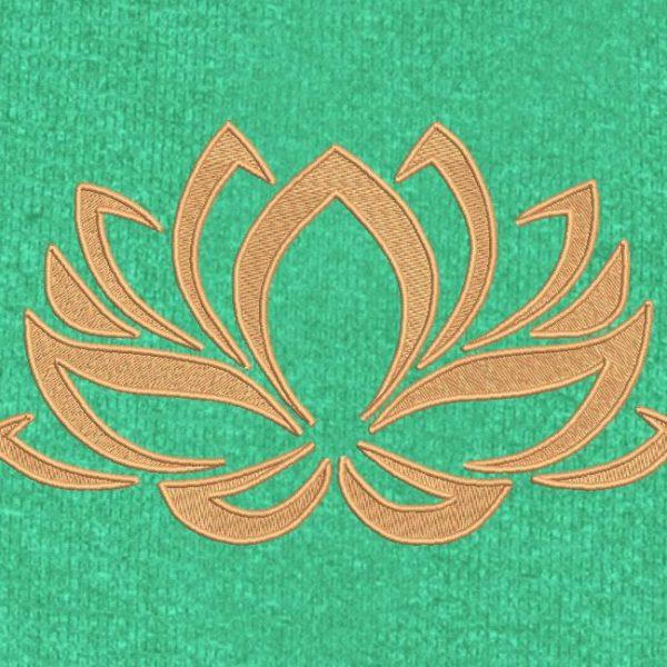 lotus flower 2 إطار تصميم آلة التطريز 10 × 10/30 × 20 تنسيقات الملفات PES و CSD و EXP و HUS و SHV و VIP و XXX و DST و PCS و JEF و VP3 و SEW و EMB ... تنزيل فوري