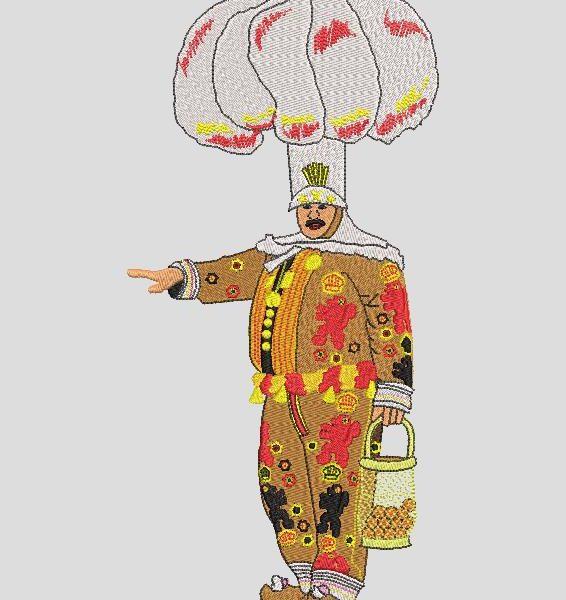 gille de binche O Gille é o personagem mais famoso do carnaval de Binche, na Bélgica. No dia do carnaval, mil gilles percorrem as ruas da cidade ao som de tambores e grupos de instrumentos de metal, compostos de trompetes, cornetas, trombones, tubas e subbassofones, além de clarinetes ou canos. Formatos de arquivo PES, CSD, EXP, HUS, SHV, VIP, XXX, DST, PCS, VP20, SEW, EMB de 30 x 3 quadros ... Download instantâneo