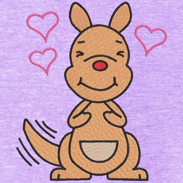 canguru apaixonado