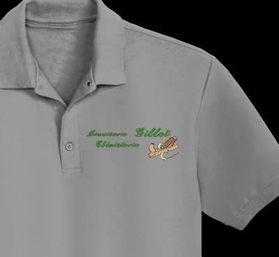 Menuiserie ébénisterie numérisation logo client , motif de broderie machine logo pour entreprises
