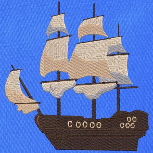 barco velho clássico